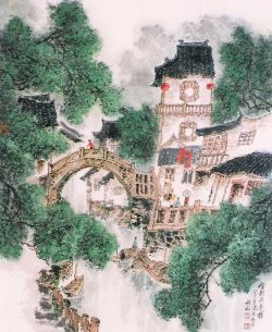 Best Song Yu Min Images On Pinterest Oriental Chinese Art - Weed murals slowly engulf urban buildings mona caron