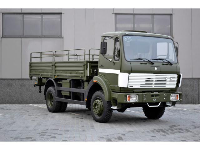 Mercedes-Benz LKW/TRUCKS 1017 - 4X4/ 54.000 KM/ Tip-Top Condition/ IN STOCK - 12
