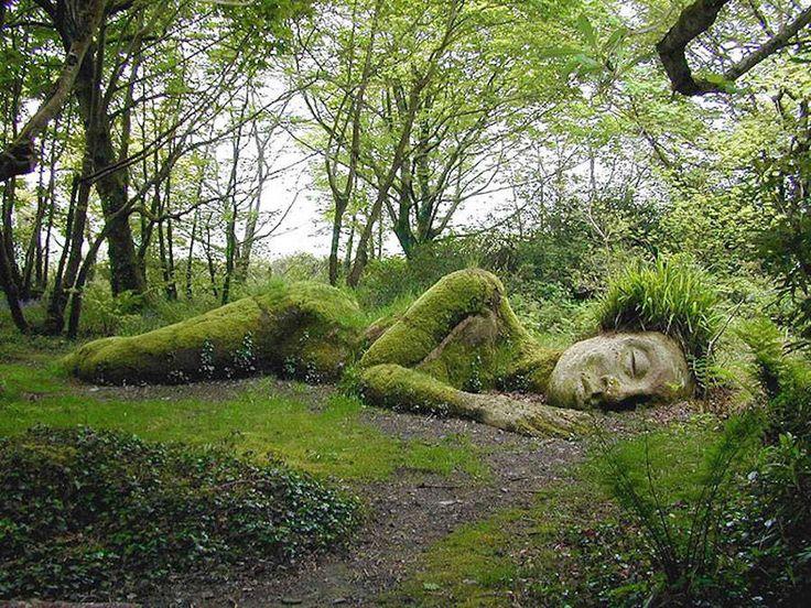 The Lost Gardens of Heligan Sculptures