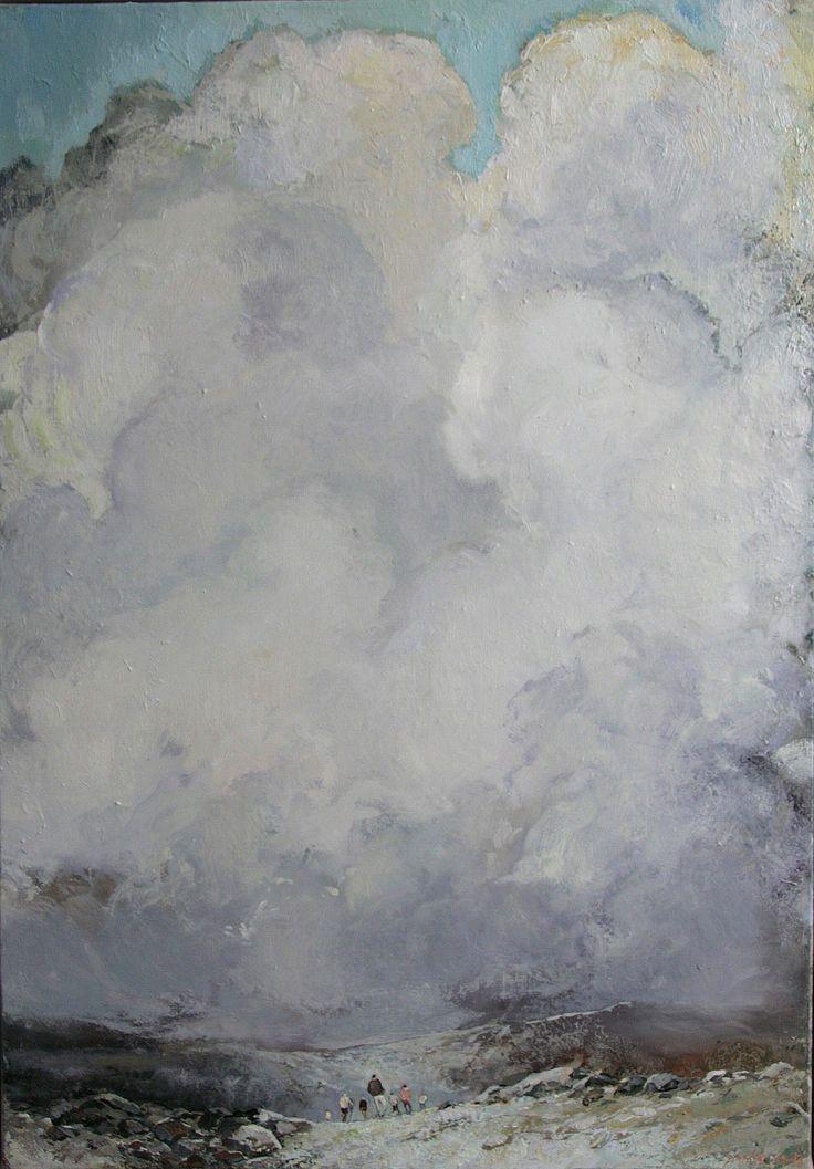 Tuomo Saali , Hinterland, oil on canvas 2015