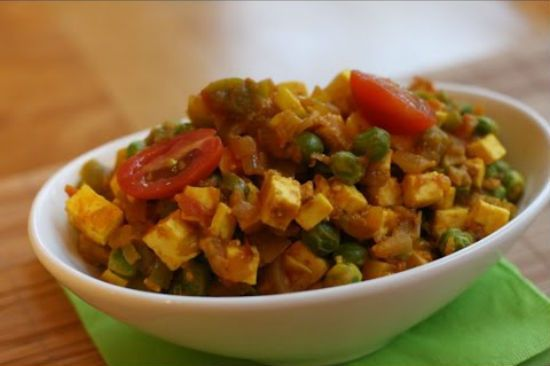 Paneer Podimas A simple to make sidedish for rotis and chapatis. #recipe