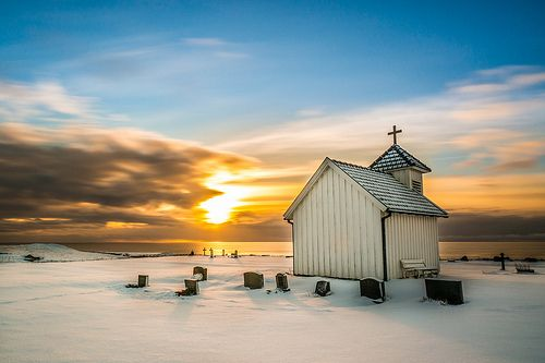 Winter at Varhaug old church [Explore #2]