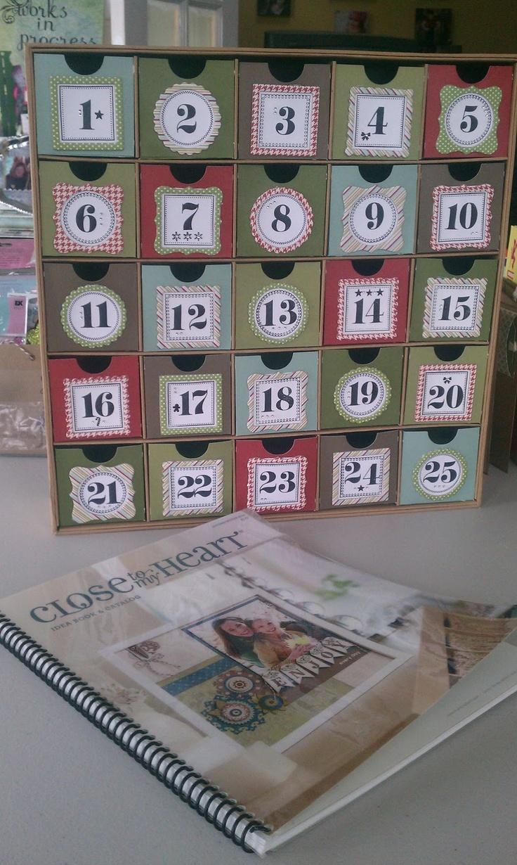 Art Advent Calendar : Ctmh advent calendar my art work pinterest