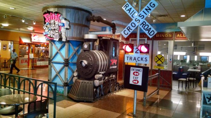 This Train-Themed Restaurant In Missouri Will Make You Feel Like You're At The Railroad Crown Center, KC