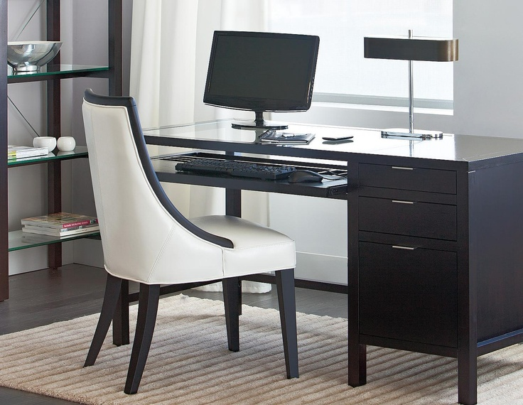 Structube - Office : Desks : Harvard II (Dark coffee)