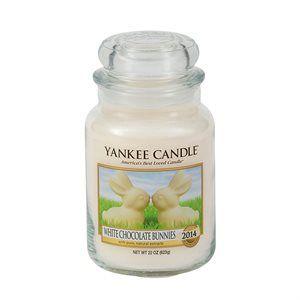 Påsknyhet 2014  White Chocolate Bunny -  En riktig påskäggsklassiker: söt, krämig vit choklad med en liten gnutta vanilj.  Collector´s Edition 2012, finns i begränsad upplaga.
