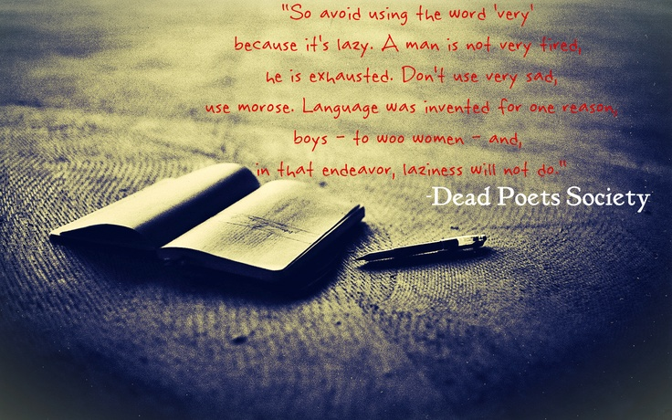 dead poets society essay prompts
