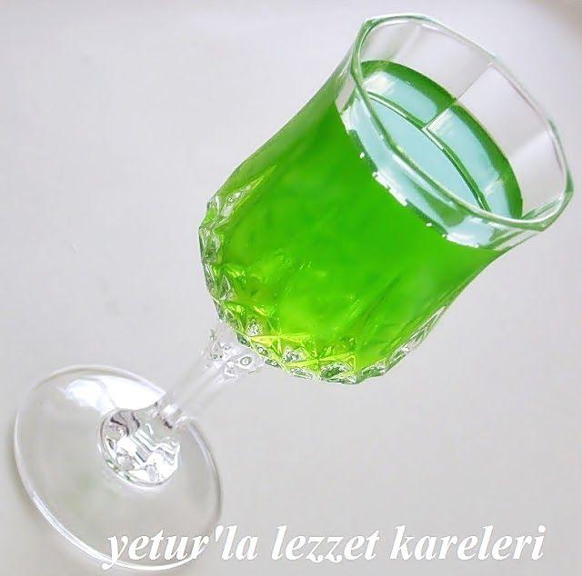 Yetur'la lezzet kareleri.com: nane şerbeti -nane konsantresi hazırlama