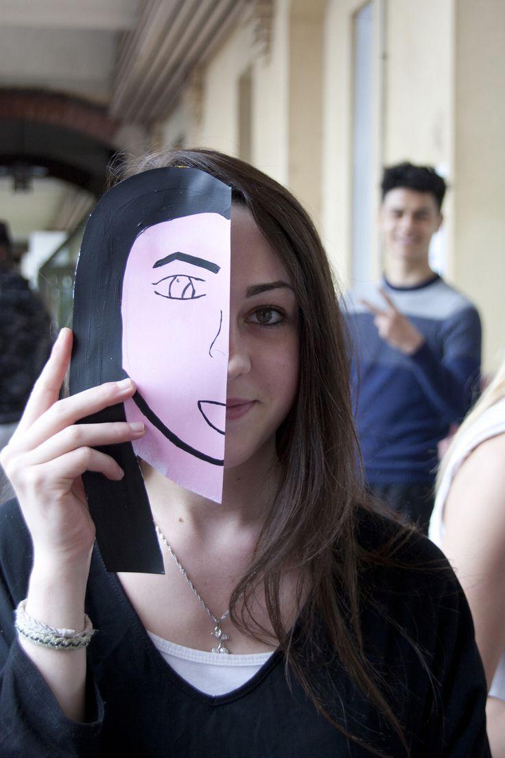 Atelier de création d'affiches contre les dicriminations avec les élèves du Lycée Felix Faure de Beauvais