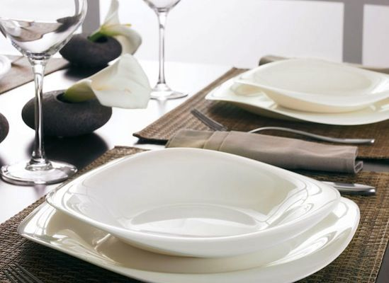 White is the color of bliss comfort and elegance. Awe your friends at & 66 best Elegant Tableware images on Pinterest | Dinnerware Dishes ...