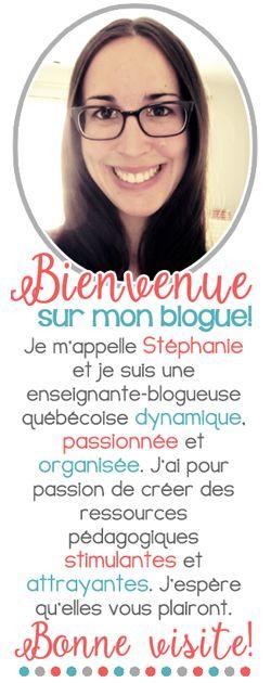 Un blogue québécois inspirant pour des enseignants passionnés qui ont à coeur la réussite de leurs élèves du préscolaire et du primaire