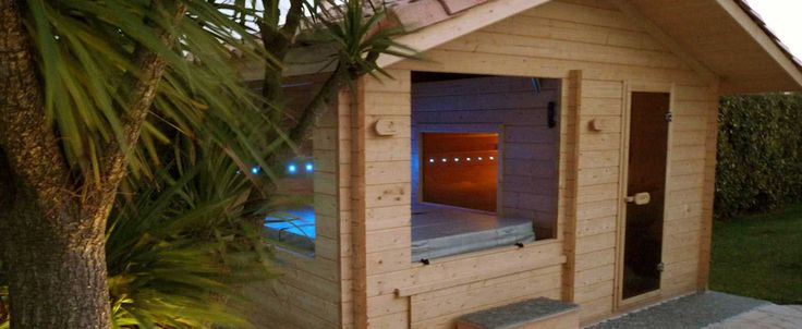 1000 id es sur le th me sauna exterieur sur pinterest for Sauna infrarouge exterieur