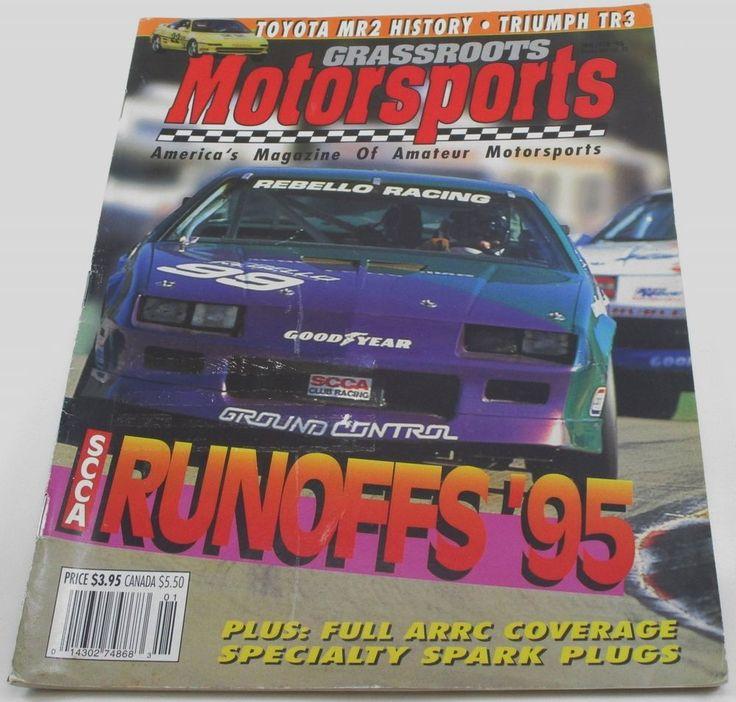 1996 GRASSROOTS Motorsports Amateur Racing Jan/Feb Vintage TR3 SCCA Ford Fiesta #GrassrootsMotorsports