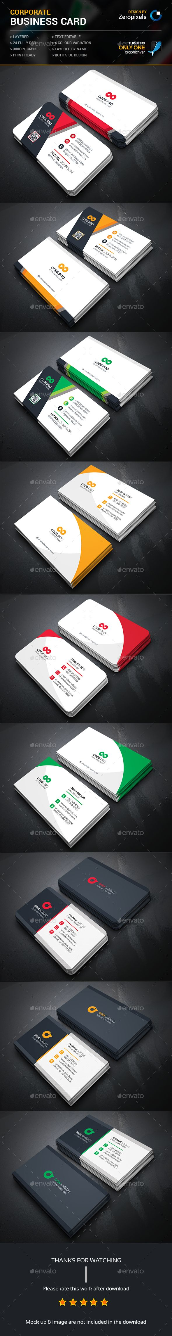 Business Card Template PSD Bundle. Download here: http://graphicriver.net/item/business-card-bundle/16665922?ref=ksioks