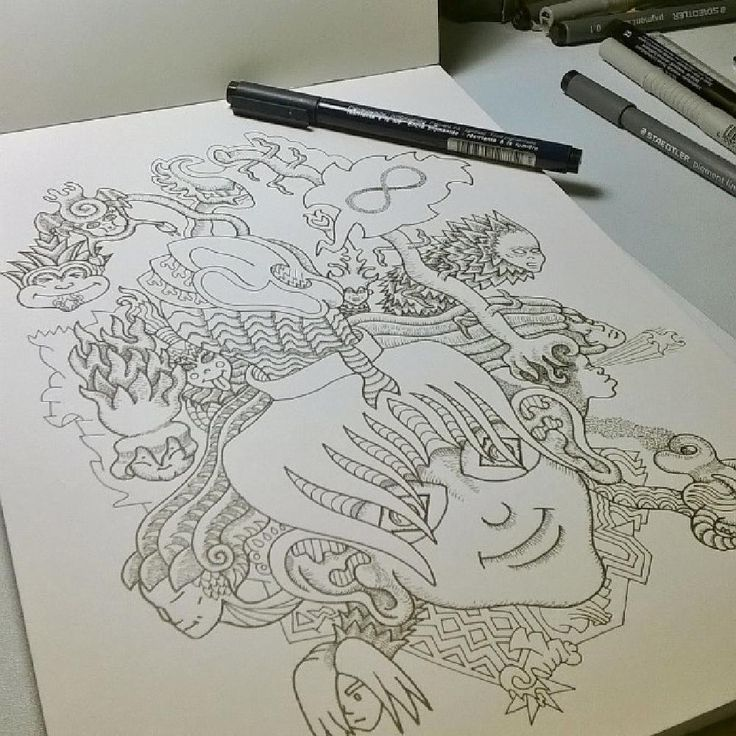 my new coloring book drawing, near competion by lazaros.kalogirou