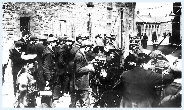 Irish Prisoners of War being held by the British at