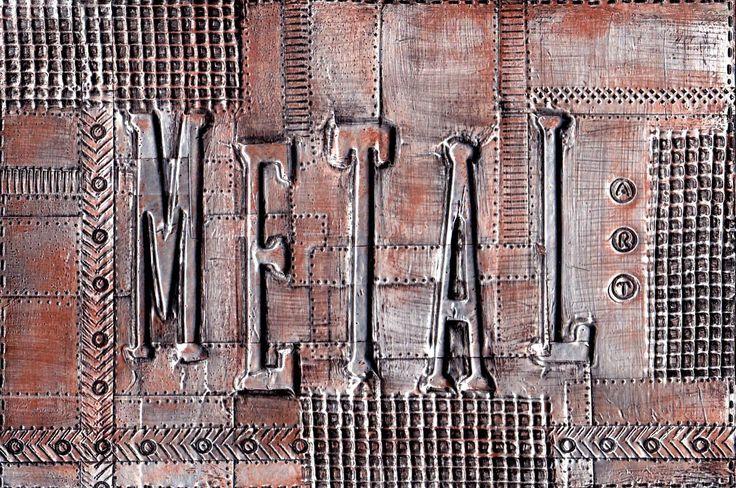 Craft Decorative Thin Faux Copper