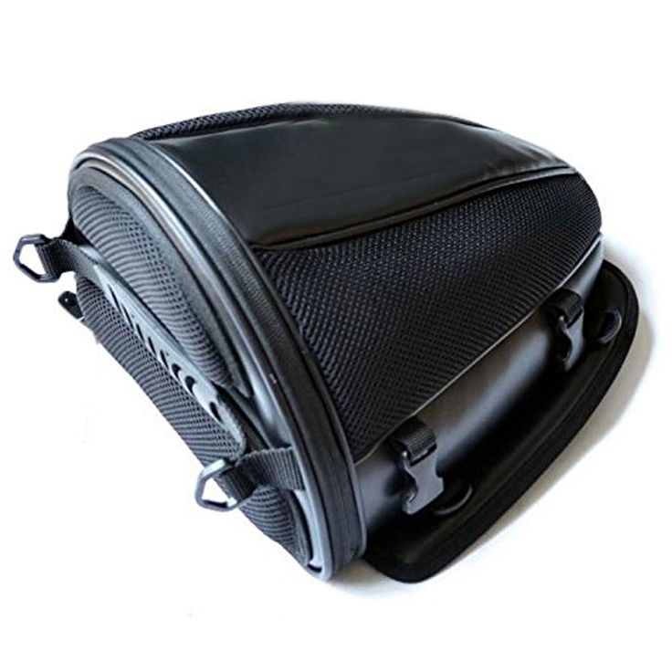 La cola de la motocicleta asiento trasero alforja bolsa de asiento trasero bolsa de moto impermeable