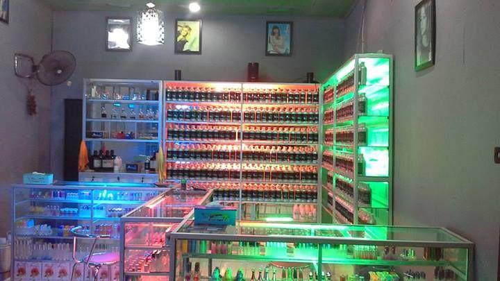 Aromania Palembang 1 Desain Toko