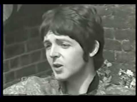 Changing Paul -- this is a video someone put together of clips from 4 different live interviews given by Paul McCartney in 1966 and 1967.  Watch closely......