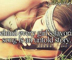 Very very very true.....even tho I can't pick out my favorite song....