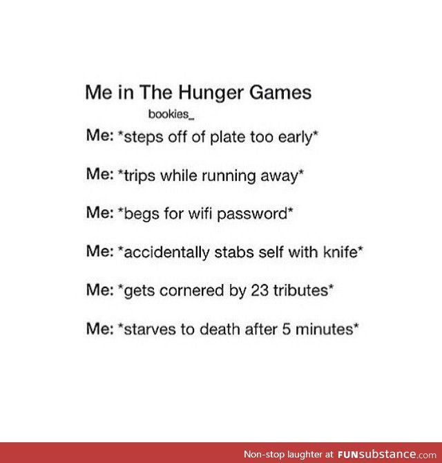 Me in the hunger games