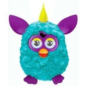 Furby Cotton Candy Azul e Roxo. I don't know where this comes from, but all of a sudden DiDi's gone Furby-crazy!? I am of course a horrible mother and am making her save her pocketmoney to buy it herself!