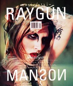 David Carson's Work: Raygun Magazine Cover