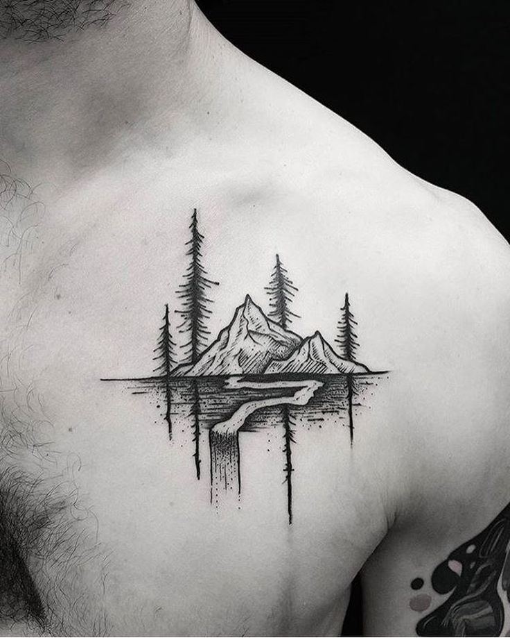 Tatuajes Pequenos Para Hombres En El Pecho Ideas De Tatuajes