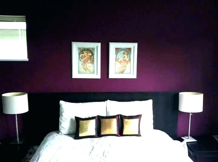 Lila Akzentwand - Dekoration ideen | Lila schlafzimmer ...