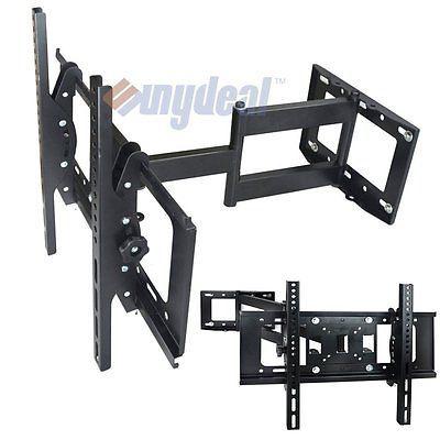 Articulating Tilt Swivel Arm LCD LED TV Wall Mount 27 32 36 37 40 42 46 50 55 60
