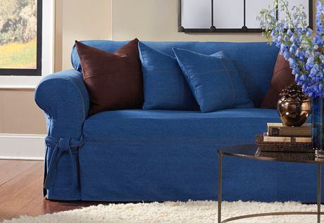 43 Best Images About Denim On Pinterest Chair Slipcovers Furniture And Cabin Furniture