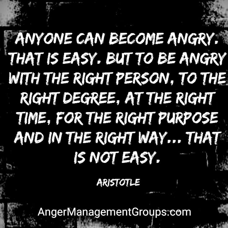 Anyone Can Become Angry