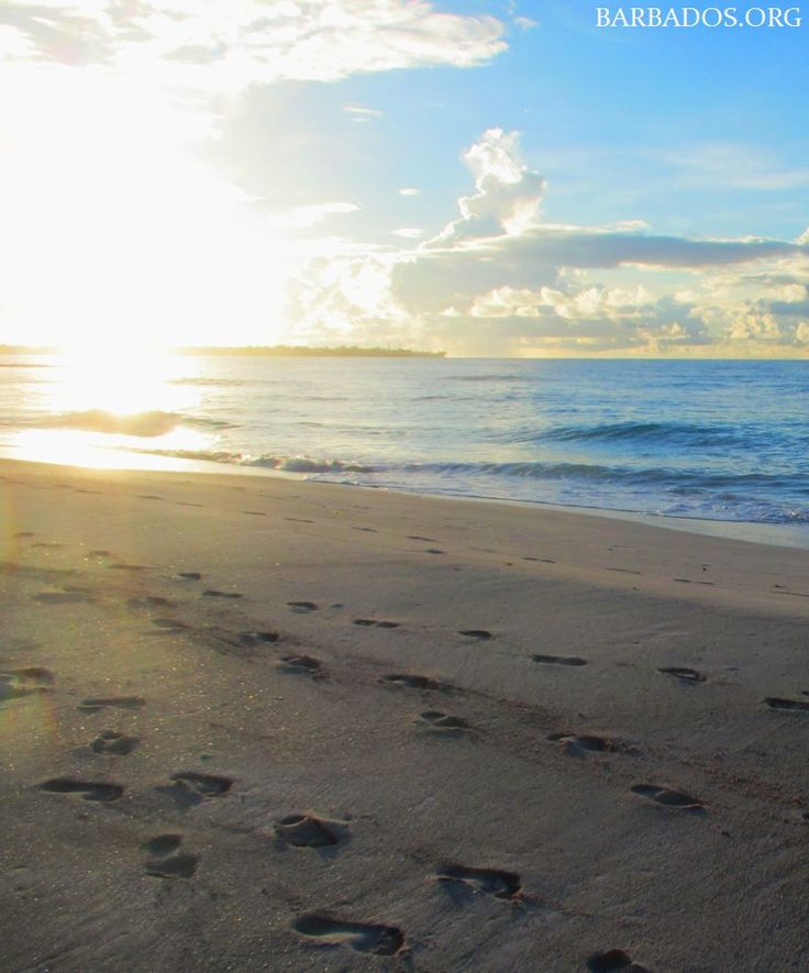 Each sunrise brings the promise of an awesome day in Barbados