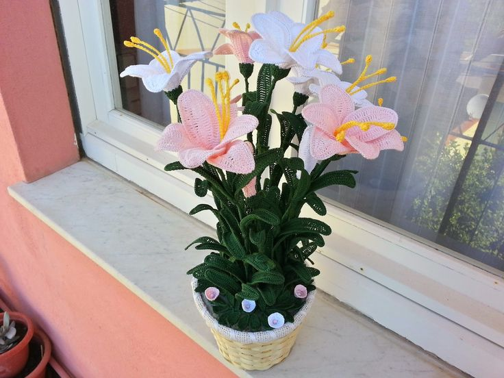 il blog di sam spiegazione giglio all 39 uncinetto fiori