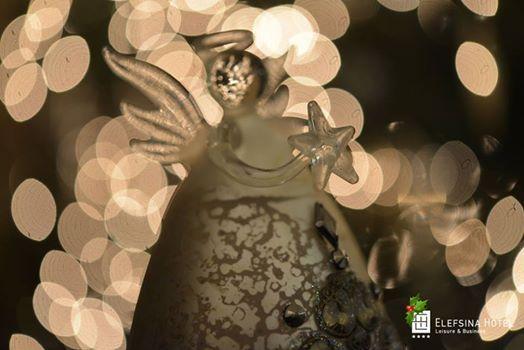 """Angels we have heard on high""... Christmas decoration @ Elefsina Hotel"