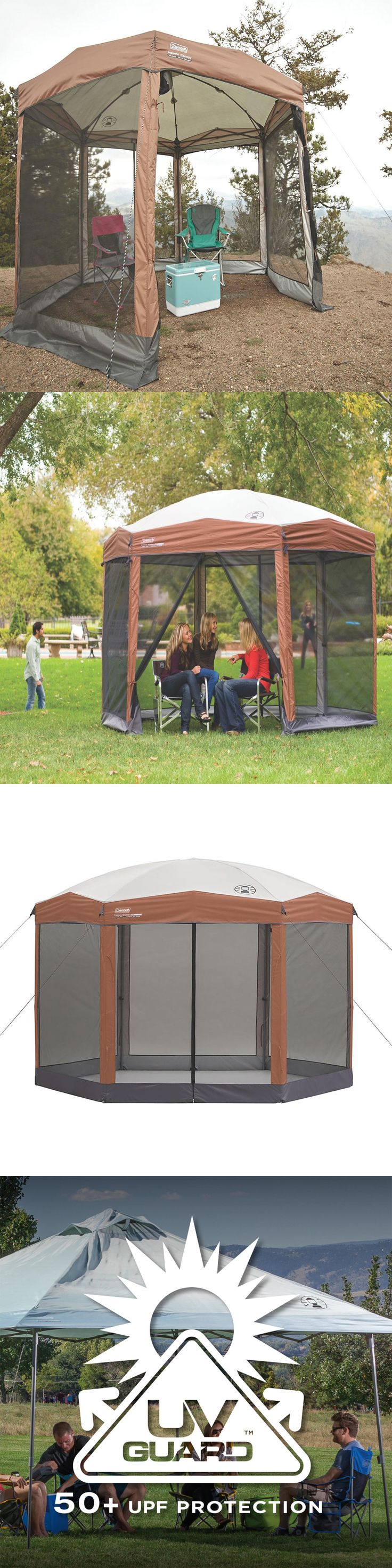 Canopies and Shelters 179011: Outdoor Screened Canopy Tent 12 X10 Instant Shelter Patio Camping House Gazebo -> BUY IT NOW ONLY: $169.5 on eBay!