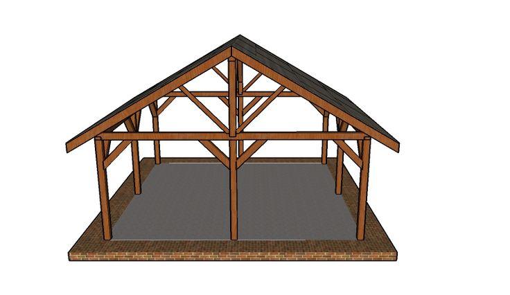 Building a picnic shelter free gazebo plans pinterest for A frame shelter plans