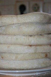 Pita broodjes zelf maken