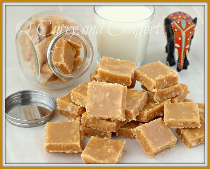 Curry and Comfort: Sri Lankan Milk Toffee