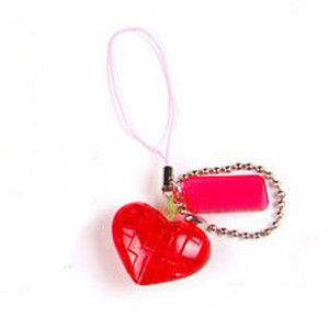 2016 Hot 3D Crystal Puzzle Three-dimensional Jigsaw Puzzle Mobile Phone Chain Mini Straps DIY Puzzles Key Chain Transparent Toys