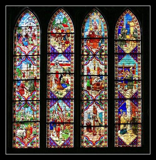 vidrieras de la catedral de leon