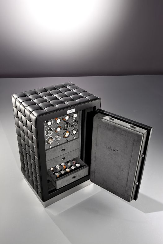 nice safe for a watch collection For more inspirations: www.bocadolobo.com Safes, luxurysafes, luxurylifestyle, exclusive design, highendlifestyle #luxurysafes #billionaire