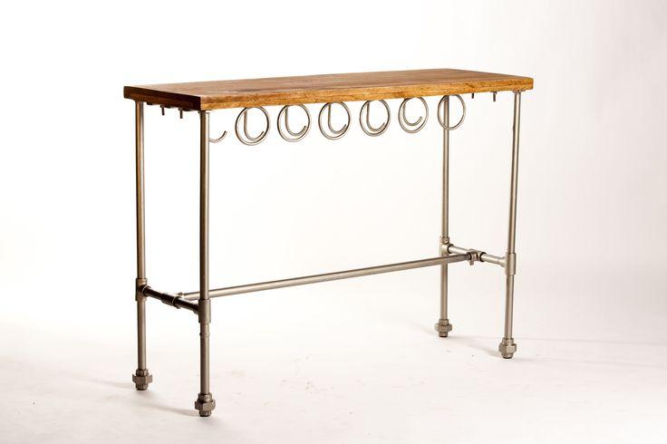 Oltre 25 fantastiche idee su console bois metal su pinterest meuble metal - Table bois design contemporain ...
