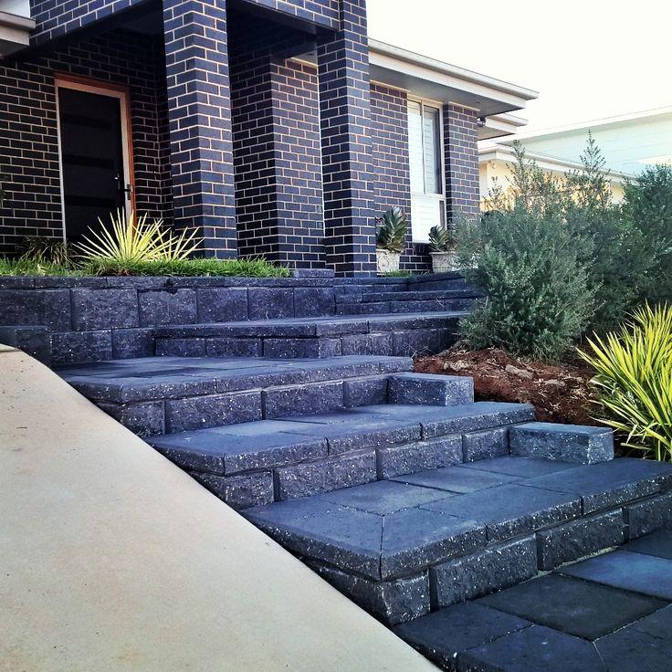 Paved steps by Keystone Landscapes Wagga