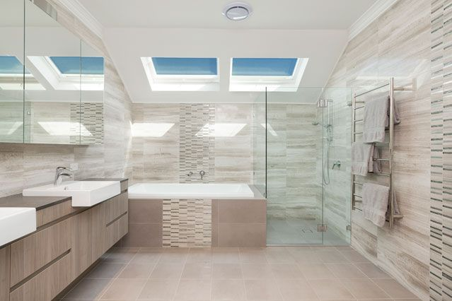 Custom Home - Modern Bathroom