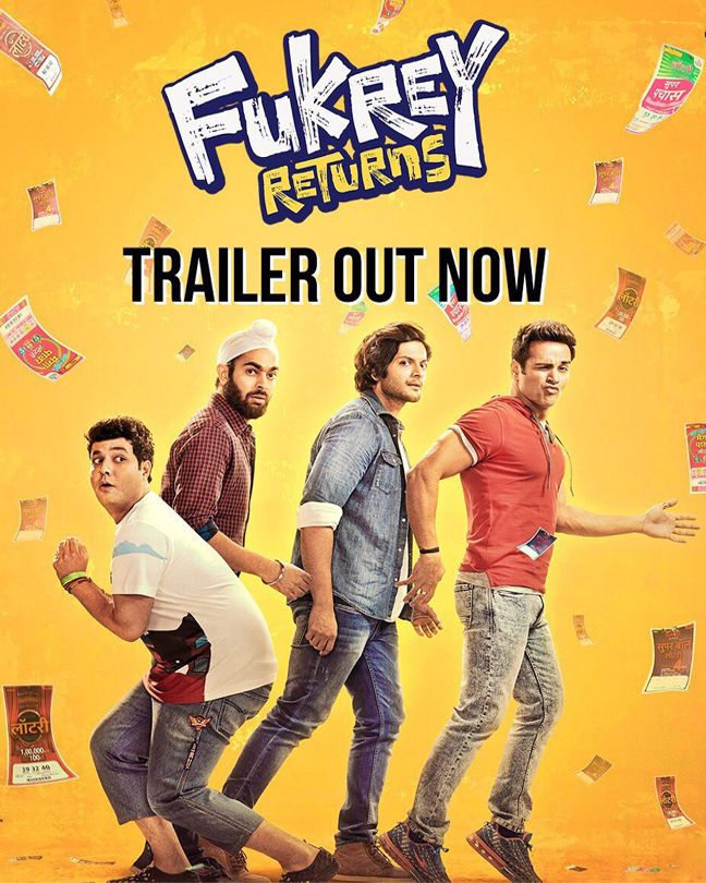 After having their way into things with some crazy jugaad in the 2013 film Fukrey, the makers of the film are back with its sequel titled Fukrey Returns. The trailer of the film has been released today and just like the first part, this one too promises a lot of witty humour. The film is being helmed by Mrighdeep Singh Lamba and produced by Excel Productions and has Pulkit Samrat, Richa Chadha, Ali Fazal, Varun Sharma and Manjot Singh reprising their roles.
