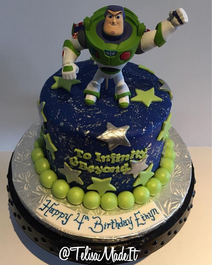 Toy Story Theme, Toy Story Birthday Cake And Toy