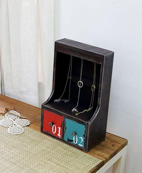 [바보사랑] 빈티지 보석함에 담으니 내 주얼리도 더 특별해보여요 /보석함/수납/악세서리/정리/수납함/장식품/인테리어/소품/선물/주얼리/Jewelry Boxes/Housing/Accessories/Decor/Interior/Props/Gift