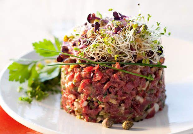 Tartare de bœuf traditionVoir la recette duTartare de bœuf tradition >>
